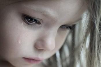 barn gråt